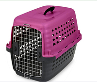 High quality solid PP pet cage