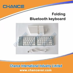 Folding Universal Bluetooth Keyboard with Multi-use Protective Case