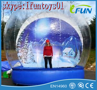 inflatable human snowglobe for sale / inflatable human snow globes christmas / christmas giant human snow globe inflatables