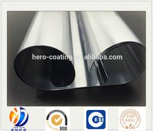 metallized CPP film/metallized PET/metallized BOPP film for flexible packaging