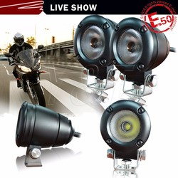 Factory wholesale 10w high power motorcycle led driving light