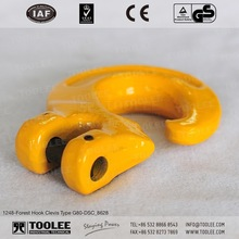 1248-Drop Forged Alloy Steel G80 Clevis Forest Hooks For Lashing Wood