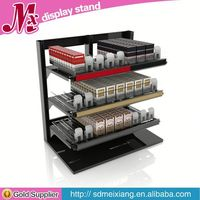 led acrylic cosmetic display MX1599 acrylic countertop rotating jewelry display stand
