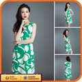 Verde bonito senhora extravagante xxxxl mulheres plus size vestuário