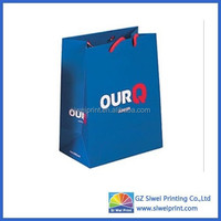 High Quality Fashion Printed paper gift bags for jewelry/paper led gift bags