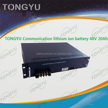 Flexible Configuration Communication LiFePO4 Battery 48V 20Ah Backup Battery System lithium iron modules in parallel