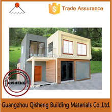 2015 guangzhou Rapid Construction luxury modified prefab shipping container house for sale