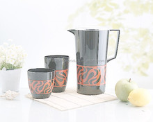 cold water cup and pitcher set