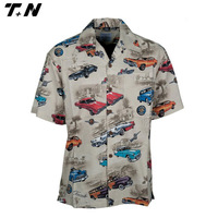 New style racing shirt sublimation racing jersey pit crew shirt