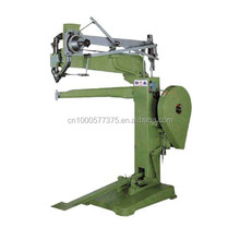 Semi-automatic golf bag riveting machine