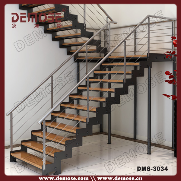 Detailed Specification Of Teak Wood Steel Structure Stairs/steps For Vans  Price