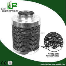 """4"""", 6"""", 8"""", 10"""", 12"""" of Activated carbon filter/inline duct fan"""