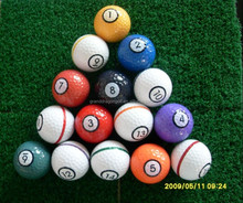 1layer high quality big size golf balls,2 inch golf ball,large golf balls