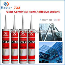 glass cement silicone adhesive sealant