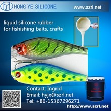 food grade bait fish silicone, clear platinum cure silicone rubber