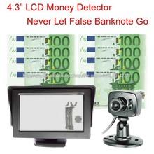"""4.3 """"LCD EUR Fácil Utilizar tamaño pequeño Detectores de Dinero"""