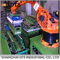 Auto Robot palletizing machine for downsteam packing line