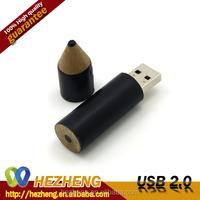 Promo Gift Wood Pencil Shape USB Flash Pen Drive 32GB