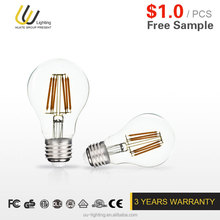E27 GLASS LED BULB with the CHEAP PRICE and HIGH QUALITY
