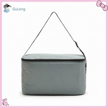 Polyester material large capacity insulated cooler bag