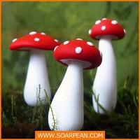 Decorative And Cute Plastic Mushroom