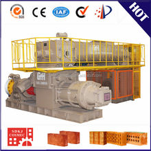 high capacity full steel german technology from shandong vp70 small clay brick making machine price