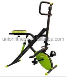 power crunch ab crunch with mini bike