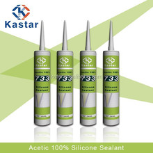 high grade acetic silicone sealant