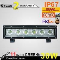 wholesale led light bar 30w, Offroad 4x4 6inch led headlight,one row led light