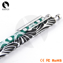 Jiangxin new design engraved ballpoint pens for kids