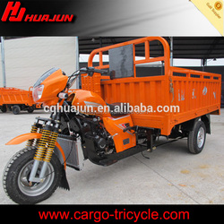 Cargo carrying use three wheel motor vehicle
