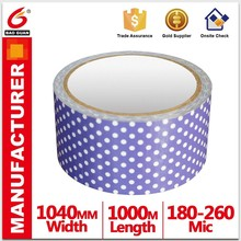self adhesive cloth Tape Cutting without deformation for Wire andcable protect