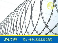 barbed wire for sale/Razor Barbed Wire/railway protection