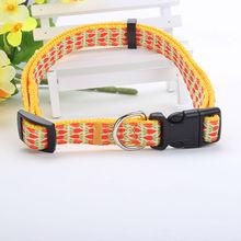 2015 China factory customized yellow padding dog nylon lead