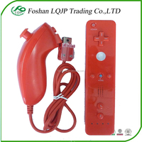 for Wii remote controller right hand+left hand Nunchuck Controller For nintendo Wii