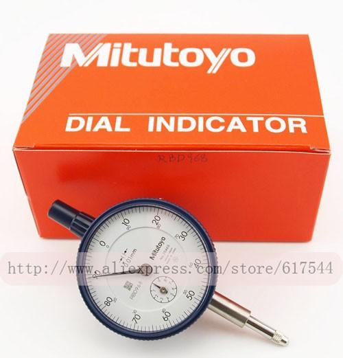 Циферблатный индикатор Mitutoyo 2046S 0/10 X 0,01 100%