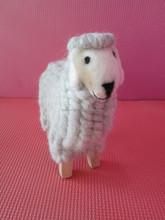 2015 100% handmade decoration wool felt festival gift sheep