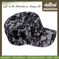 True Adventure TA3-030 Wholesale New Arrival Cheap Price 100% Polyester Camouflage Flat Top Military Snapback Caps