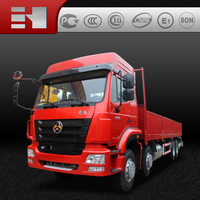 Hohan Euro3 8x4 low cost logistics transportation commercial vehicles for sale