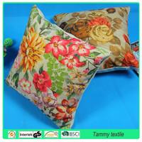 Wholesale Latest Design Waterproof Custom Digital Printing Cushion Cover 45x45cm