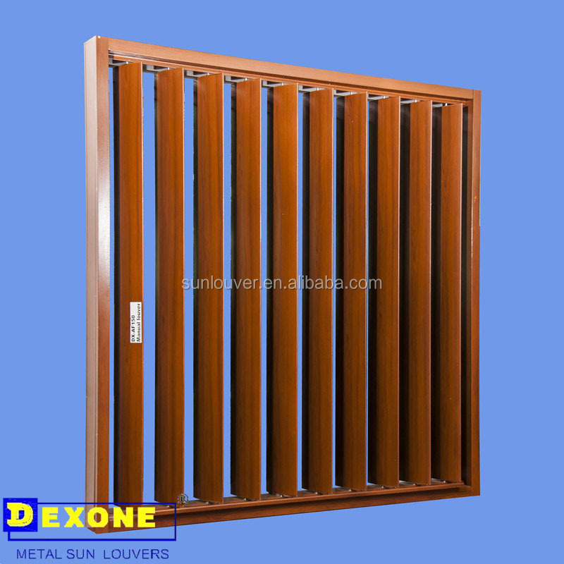 Aluminum door aluminum door louvers for Movable exterior walls