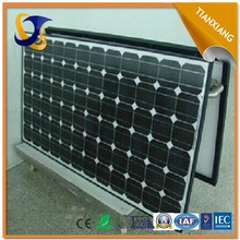 hot in south america 80w amorphous silicon solar panel