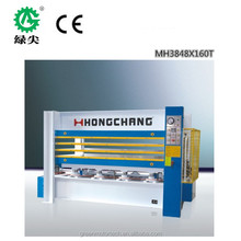 energy saving Door skin hot press machine/ MDF door skins/Veneer laminating hot press machine