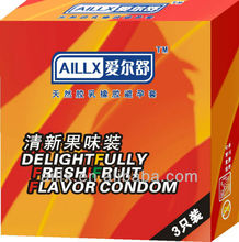 Fruit orange feel good men adult condom silky soft comfortable make love sex products