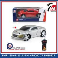 New toys 1 32 scale small rc car kid rc model car 2 ch toy car