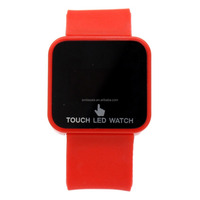 Wholesale Jelly Silicone Digital Touch LED Watch Watches Manufacturer&Supplier&Exporter
