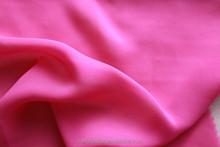 100D*100D/1600*1600 Yarn Count Red Bulk Chiffon Fabric