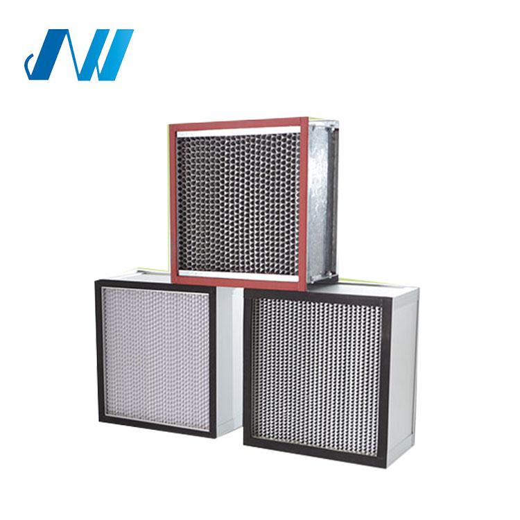Kim loại khung tổng hợp cleaner phương tiện truyền thông vừa chỉnh air filter