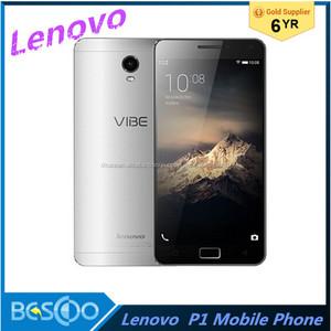 Lenovo VIBE P1 C58 C70 Мобильный Телефон 4G LTE Android 5.1 Отпечатков Пальцев NFC Окта Ядро 5.5 Дюймов FHD 2GB/3GB RAM 16GB ROM