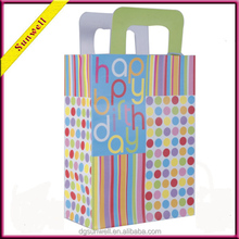 wholesale importer of dongguan goods gift paper products paper bag packaging &birthday gift bag